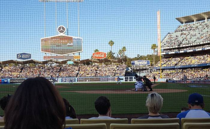 Dodgers vs. Giants: First Pitch#nozoom