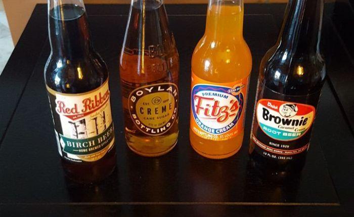Flavored soda haul #rootbeer #birchbeer #cremesoda#orangecream