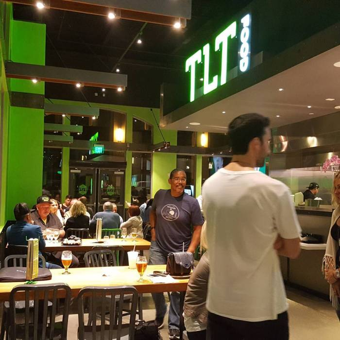Family and  Friends Night for soft opening of TLT Food