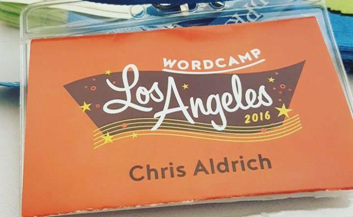 Attending WordCamp LosAngeles