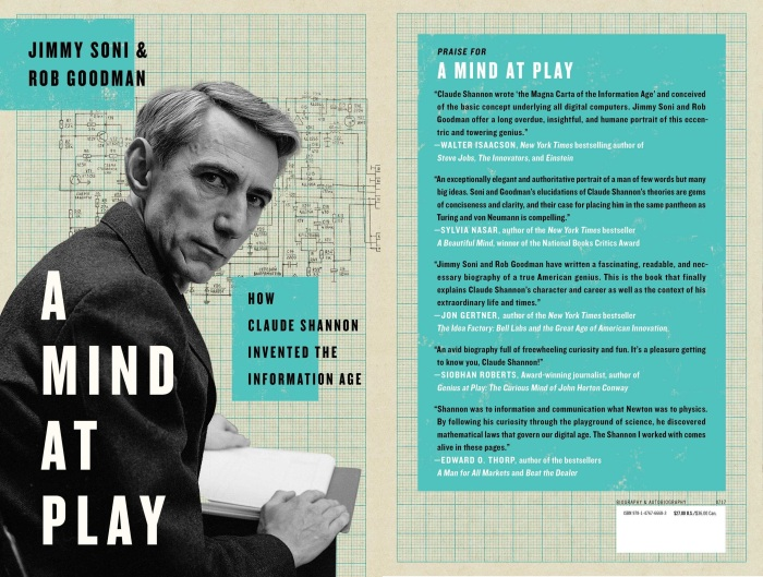 📖 Read pages 16-55 of A Mind at Play by Jimmy Soni & Rob Goodman