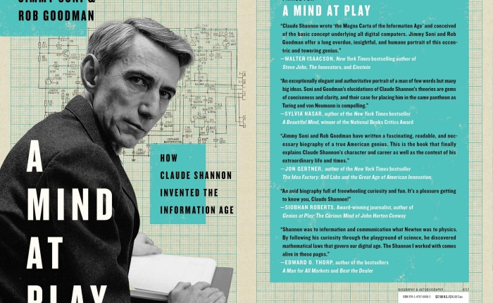 📗 Started reading A Mind at Play by Jimmy Soni & RobGoodman