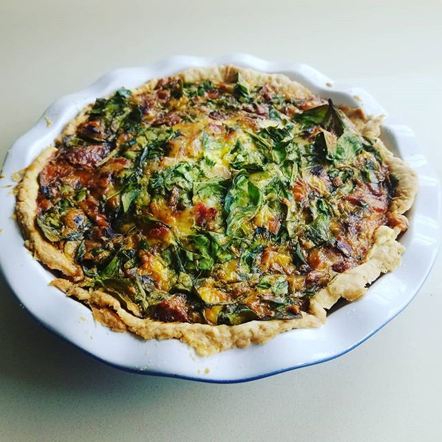 Mother's day quiche